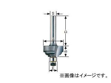 大日商/DAINISSYO コーナービット 両段サジ面 ルーター用 6分 R6 JAN:4948572030321