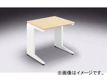 ナイキ/NAIKI リンカー/LINKER カスティーノ 平デスク Sタイプ シルクウッド/クリアーホワイト CND086F-WS 800×650×700mm