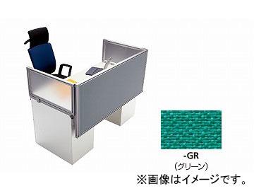 ナイキ/NAIKI リンカー/LINKER カスティーノ デスクトップパネル エンド用 グリーン CN07EP-GR