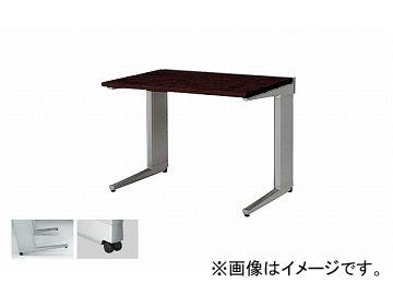 ナイキ/NAIKI リンカー/LINKER トリアス 平デスク キャスター仕様 ゼブラウッド TR107FC-SVZ 1000×700×700mm