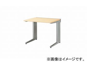ナイキ/NAIKI リンカー/LINKER トリアス 平デスク シルクウッド TR087F-SVS 800×700×700mm