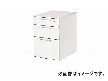 ナイキ/NAIKI リンカー/LINKER トリアス ワゴン 3段 ホワイト TR046XC-HH 395×580×611mm
