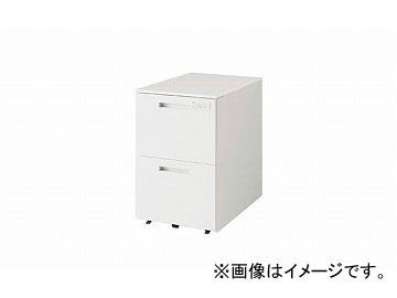 ナイキ/NAIKI リンカー/LINKER トリアス ワゴン 2段・ダイヤル錠 クリアホワイト TRH046YCD-WW 395×580×611mm