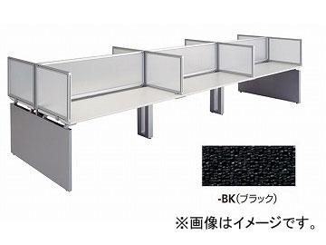 ナイキ/NAIKI リンカー/LINKER ウエイク デスクトップパネル エンド用 ブラック WK075PEE-BK 683×30×500mm