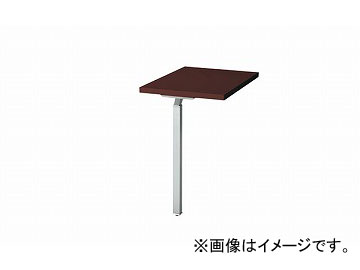 ナイキ/NAIKI リンカー/LINKER ウエイク サイドテーブル スペーサ無 ゼブラウッド WK047ST-SVZ 700×400×700mm