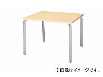ナイキ/NAIKI リンカー/LINKER ウエイク ミーティングテーブル スペーサ無 シルバー/シルクウッド WK0990MT-SVS 900×900×700mm