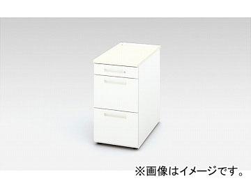 ナイキ/NAIKI リンカー/LINKER 脇デスク ホワイト/クリアーホワイト CHD047G-WH 400×700×720mm
