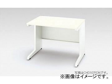 ナイキ/NAIKI リンカー/LINKER 平デスク 引出し無し ホワイト/クリアーホワイト CHD087FDN-WH 800×700×720mm