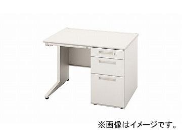 ナイキ/NAIKI リンカー/LINKER 片袖デスク ホワイト CNE107B-HH 1000×700×700mm