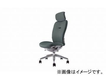 ナイキ/NAIKI リンカー/LINKER エネア 事務用チェアー グレー ZE512F-GL 615×590×1100~1185mm