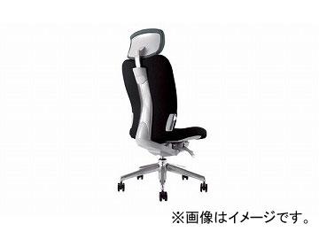 ナイキ/NAIKI リンカー/LINKER エネア 事務用チェアー ブラック ZE512F-BK 615×590×1100~1185mm