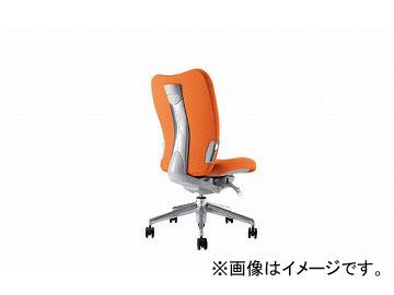 ナイキ/NAIKI リンカー/LINKER エネア 事務用チェアー オレンジ ZE510F-OR 615×590×900~985mm