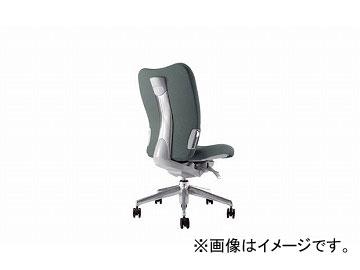 ナイキ/NAIKI リンカー/LINKER エネア 事務用チェアー グレー ZE510F-GL 615×590×900~985mm