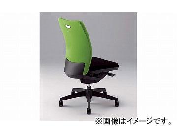 ナイキ/NAIKI リンカー/LINKER シェルモ 事務用チェアー ライトグリーン WE512F-LGR 619×620×908~978mm