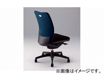 ナイキ/NAIKI リンカー/LINKER シェルモ 事務用チェアー ダークブルー WE512F-DBL 619×620×908~978mm