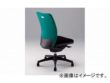 ナイキ/NAIKI リンカー/LINKER シェルモ 事務用チェアー グリーン WE512F-GR 619×620×908~978mm