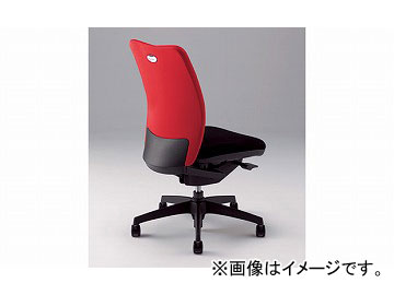 ナイキ/NAIKI リンカー/LINKER シェルモ 事務用チェアー レッド WE512F-RE 619×620×908~978mm