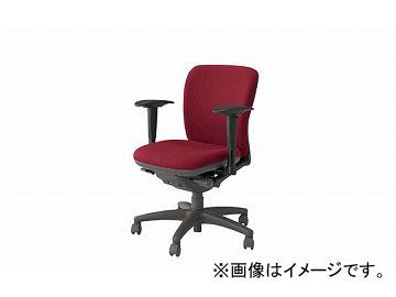 ナイキ/NAIKI ネオス/NEOS フィーモ 事務用チェアー ME型 レッド ME511AFN-RO 629~711×570×825~895mm