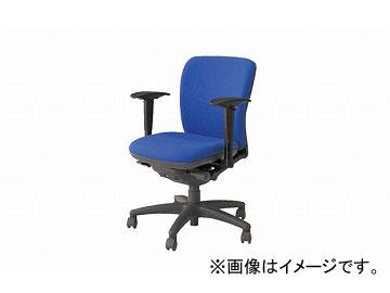 ナイキ/NAIKI ネオス/NEOS フィーモ 事務用チェアー ME型 グリーン ME511AFN-BL 629~711×570×825~895mm
