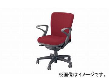 ナイキ/NAIKI ネオス/NEOS フィーモ 事務用チェアー ME型 レッド ME511F-RO 620×592×825~895mm