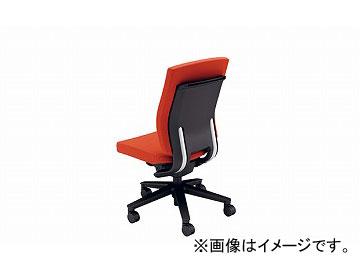 ナイキ/NAIKI リンカー/LINKER フェクト 事務用チェアー オレンジ FE512F-OR 600×580×925~1010mm