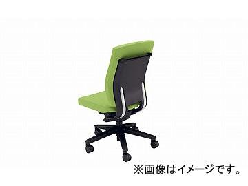 ナイキ/NAIKI リンカー/LINKER フェクト 事務用チェアー グリーン FE512F-GR 600×580×925~1010mm