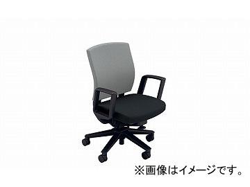 ナイキ/NAIKI リンカー/LINKER フェクト 事務用チェアー グレー/ブラック FE511F-GLB 605×580×865~950mm