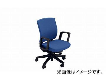 ナイキ/NAIKI リンカー/LINKER フェクト 事務用チェアー ブルー FE511-BL 605×580×865~950mm