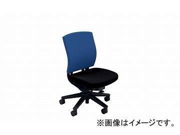 ナイキ/NAIKI リンカー/LINKER フェクト 事務用チェアー ブルー/ブラック FE510F-BLB 600×580×865~950mm
