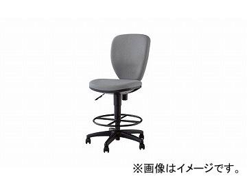 ナイキ/NAIKI 設計者用チェアー 70型リング付 グレー 701NGS-GL 465×590×870~1060mm