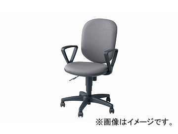 ナイキ/NAIKI 事務用チェアー SEN型 グレー SEN513F-GL 580×580×880~985mm