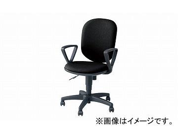 ナイキ/NAIKI 事務用チェアー SEN型 ブラック SEN513F-BK 580×580×880~985mm