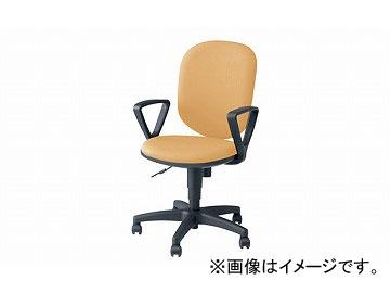 ナイキ/NAIKI 事務用チェアー SEN型 ライトイエロー SEN513F-LYE 585×575×880~985mm