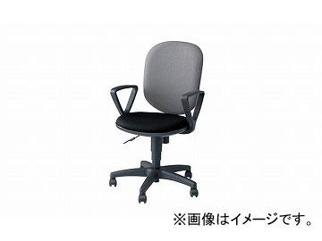 ナイキ/NAIKI 事務用チェアー SEN型 グレー/ブラック SEN513F-GLB 580×580×880~985mm