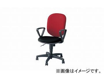 ナイキ/NAIKI 事務用チェアー SEN型 ローズ/ブラック SEN513F-ROB 580×580×880~985mm