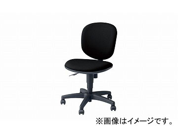 ナイキ/NAIKI 事務用チェアー SEN型 ブラック SEN510F-BK 580×560×800~905mm