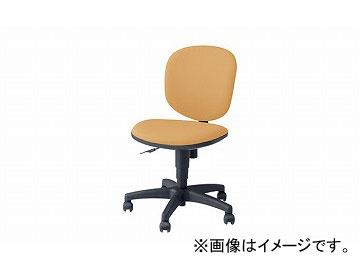 ナイキ/NAIKI 事務用チェアー SEN型 ライトイエロー SEN510F-LYE 580×555×800~905mm