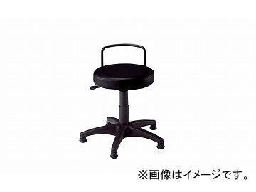 ナイキ/NAIKI 丸イス 固定脚 ブラック E777K-BK