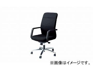 ナイキ/NAIKI マネージメントチェアー ブラック E333F-BK