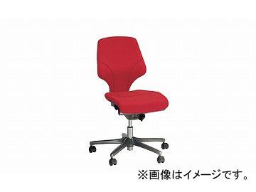 ナイキ/NAIKI ジロフレックス64/giroglex64 輸入チェアー レッド(布地) 64-3078RS-T597 645×570×895~995mm