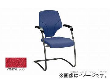 ナイキ/NAIKI ジロフレックス64/giroglex64 輸入チェアー レッド(布地) 64-7003S-T597 580×615×840mm