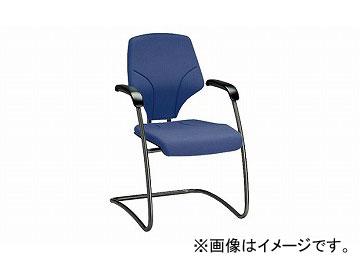 ナイキ/NAIKI ジロフレックス64/giroglex64 輸入チェアー ダークブルー(布地) 64-7003S-T590 580×615×840mm