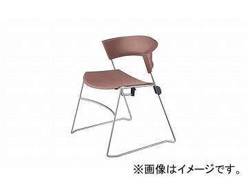 ナイキ/NAIKI ジロフレックス12/giroglex12 輸入チェアー ライトレッド 12-3008-832 585×520×705mm