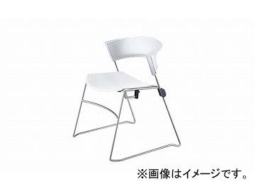 ナイキ/NAIKI ジロフレックス12/giroglex12 輸入チェアー ホワイト 12-3008-851 585×520×705mm