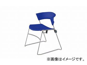 ナイキ/NAIKI ジロフレックス12/giroglex12 輸入チェアー ブルー 12-3008-855 585×520×705mm