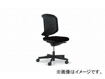 ナイキ/NAIKI ジロフレックス434/giroglex434 輸入チェアー 肘なし ブラック 434-3019RS-475 604×576×920~1010mm