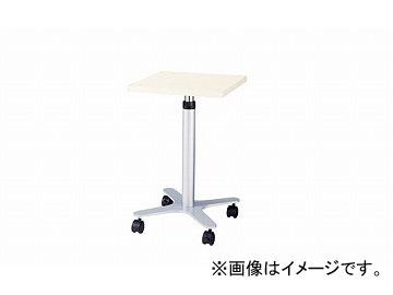 ナイキ/NAIKI サブテーブル ホワイト CST45-WH 450×450×660~960mm