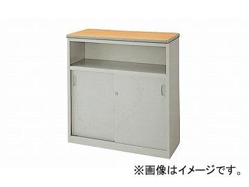 ナイキ/NAIKI ネオス/NEOS ハイカウンター 棚付タイプ ライトパーチ木目 SNC0990K-AWL 900×460×950mm