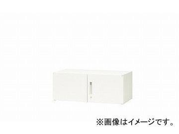 ナイキ/NAIKI リンカー/LINKER 両開き書庫 ホワイト CWS-0904K-HH 899×400×350mm