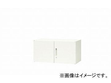ナイキ/NAIKI リンカー/LINKER 両開き書庫 ホワイト CW-0905K-HH 899×450×450mm